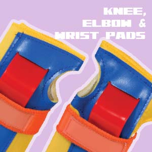 Knee, Elbow and Wrist Pads for Kids